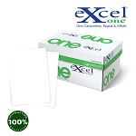 8.5 X 11 Excel One Digital/Offset  2 PT Reverse . WH/WH   5000 sheets/case