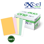 8.5 X 14 Excel One Digital/Offset  5 PT Rev GD/PK/CA/GN/WH 5000 sheets/case