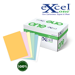 8.5 X 11 Excel One Digital/Offset  6 PT Rev GD/PK/CA/GN/BLUE/WH 5000 sheets/case