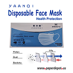 YAANQI - Disposable Face Mask  -  50 Mask in box pack of 5 - Shipping included