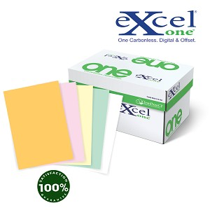 21# 11 X 17  Excel One Digital/Offset  5 PT Reverse GD/PK/CA/GN/WH                            2500 sheets/case
