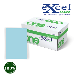 8.5 X 11 EXCEL ONE DIGITAL/OFFSET BLUE CFB