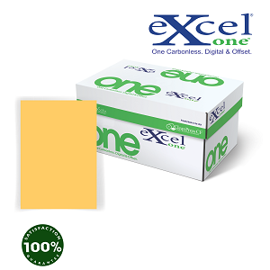 8.5 x 14 Excel One DIGITAL/OFFSET CFB GOLDENROD