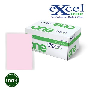 8.5 X 14 Excel One Digital/Offset PINK CB 5000 sheets/case