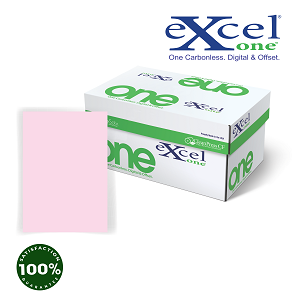231# 8.5 X 11 EXCEL ONE DIGITAL/OFFSET PINK CFB