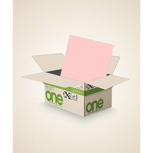 8.5 X 11 Excel One Digital/Offset PINK CB 5000 sheets/case